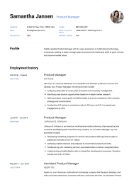 Resume Templates Product Manager Sample Unbelievable Google
