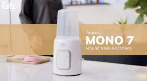 Máy hâm sữa và tiệt trùng điện tử - Mono 7 - Fatzbaby FB3010TN | Máy Hâm  Sữa FatzBaby