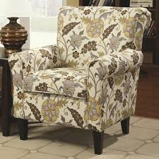 rosalie yellow fabric accent chair  stealasofa furniture outlet
