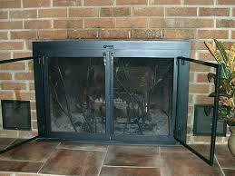 gas fireplace doors glass fireplace doors fireplace doors gas fireplace glass doors open or closed