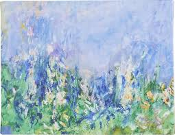 lavender fields by claude monet framed on canvas