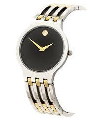 movado esperanza men s two tone watch shipping today movado esperanza men s two tone watch