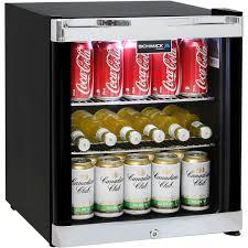 schmicktropical glass door mini bar fridge model hus sc50b