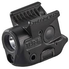 Glock Gtl 22 Tactical Light With Laser And Dimmer Streamlight 69284 Tlr 6 Weapon Light For Sig P365 White Led 100 Lumens 1 3n Lithium Battery Black Polymer