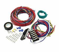 empi 9466 vw dune buggy universal wiring harness w fuse box rail