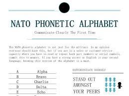 The international phonetic alphabet (ipa) is a the international phonetic alphabet (ipa) is a system where each symbol is associated with a particular english sound. Nato Phonetic Alphabet