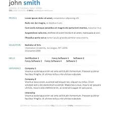 Word Resumes Templates Inspiration Cv Template Australia Word Resume Free Printable Awesome Images Of
