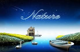 Psd Download Beautiful Nature And Stars Psd Background Free Download