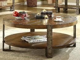wood coffee table metal legs round wooden coffee table with metal legs round industrial coffee table