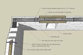 corrugated metal and wood bond beam ilration credit patti stouter
