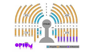 Cosmopolitan Las Vegas Seating Chart Opium Las Vegas Tickets Review