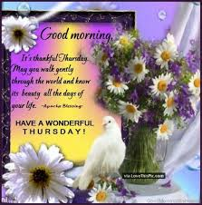 Thursday Good Morning Quotes Best of 24 Wonderful Good Morning Quotes