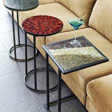 there are a lot of table designs that you can find in the market but if you want to strengthen the design and openness look c table will be the most