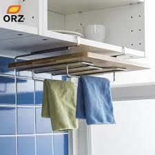 kitchen towel holder. Perfect Holder ORZ Kitchen Towel Holder Cutting Board Rack Chopping Stainless  Steel Hanging Storage Shelf With S