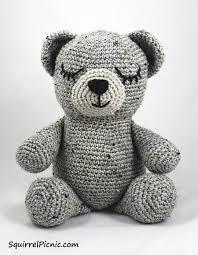 Crochet Teddy Bear Pattern Interesting Crochet Teddy Bear Patterns