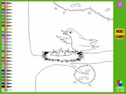 Small Picture Bird Nest Coloring Pages For Kids Bird Nest Coloring Pages YouTube