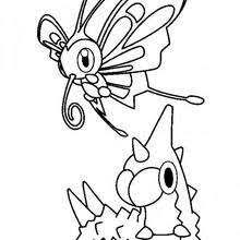chenipote n deg 1 twerr kirlia, flygon and salamence coloring pages hellokids com on flygon coloring pages