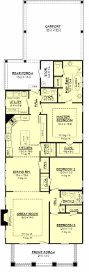 Old Decatur Craftsman House Plan  House Plan Zone. I'd add two more open  rooms to the front: a formal sitting area/music room, and a library/home  office.