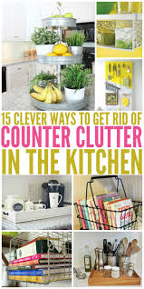 To Organize Kitchen 17 Best Ideas About Organizing Kitchen Counters On Pinterest