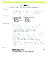 40 Accounts Payable Clerk Resume Best Accounts Payable Job Description Resume