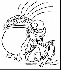 Small Picture outstanding st patricks day coloring pages with leprechaun