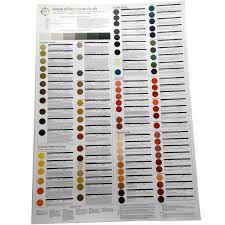 Li Colour Chart Laminated