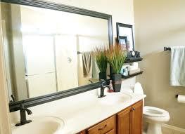 diy bathroom mirror frame. Bathroom; July Diy Bathroom Mirror Frame