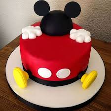 Mic006 Delightful Mickey Mouse Cake Mickey Mouse Cake Cake