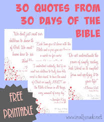 Bible Quotes About Children Amazing FREE 48 Days Of Bible Quotes Printable