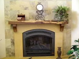 traditional rustic fireplace mantels