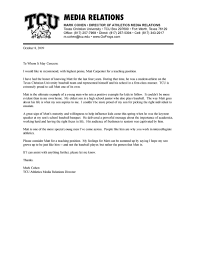 Recommendation Letter Teaching Position