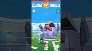 Pokemon Go - Tier 2 Nosepass Raid solo w/ lv 33 - YouTube