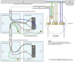 two way light switching wire system new harmonised cable colours showing switch and ceiling rose wiring