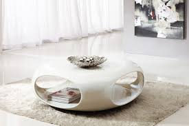 round white coffee table modern with shelves and storage also for small modern coffee table