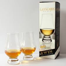 the glencairn official whisky glass set of 2 printed gift carton