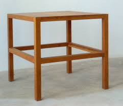 modern simple furniture. Donald Judd, Stool #68 Modern Simple Furniture