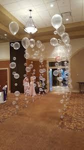 Bubble balloons walkway for Cincinnatti Christian school prom