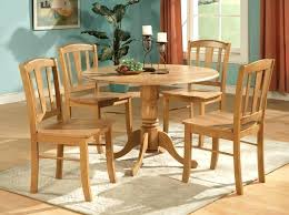 oak chairs for kitchen table round oak table and 4 chairs round oak kitchen table and