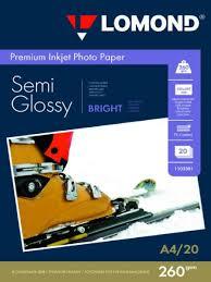 <b>Полуглянцевая</b> фотобумага Bright Semi-Glossy, <b>односторонняя</b> ...