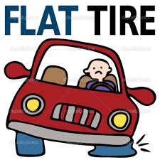 Image result for changing a flat tire cartoon