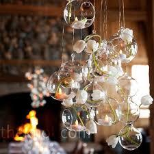 18PCS/Lot O.RoseLif Brand Hanging Tealight Holder Glass Globe Terrarium  Candle Holders Candlestick