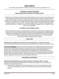 systems engineer sample resumes protection and controls engineer sample resume 21 click here to