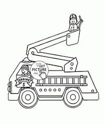 Small Picture Dump Truck Side View coloring page for kids transportation