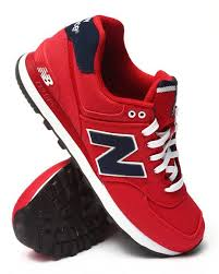 new balance shoes red. the 574 pique polo sneakers by new balance! balance shoes red