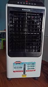 Máy quạt hơi nước sunhouse làm dịu tức thì cơn nóng trong căn phòng bạn