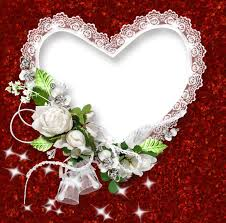 frame clipart red and white ana white picture borders hearts and roses