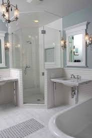 Tiled Corner Shower Stalls Corner Tile Shower Showers Tiled Stalls