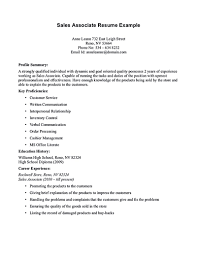 Sales Associate Resume Is Dedicated For Those Professional Having