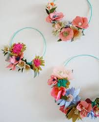 Paper Flower Headbands 11 Coachella Approved Diy Paper Flower Crowns Brit Co
