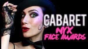 cabaret makeup nyx face awards 2016